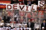 New Jersey Devils Impliment the #NoBlue Campaign to Keep Ranger Fans Out