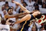 Miami Heat vs. Indiana Pacers: Flagrant Fouls Sideline Udonis Haslem and Dexter Pittman [VIDEO]