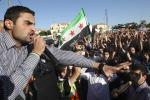 Syrians Protest in Amman