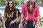 Kate Middleton and Prince William in the Solomon Islands
