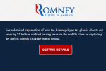 Romney Tax Plan Revealed In Joke Site