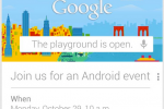 Google Fires Back At Apple And iPad Mini With Mysterious Oct. 29 NYC Event