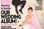 Justin Timberlake Wedding Photos Show Jessica Biel Wedding Dress, Newlyweds Featured On People Magazine Cover