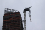 Plan Approved To Secure Dangling Crane Caused By Hurricane Sandy