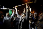 Gaza Celebrates As Truce Ends Israeli Bombardment