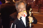 Ang Lee In-N-Out: Best Director Scarfing Down A Burger After Winning An Oscar [PHOTO]