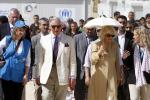 Prince Charles Visits Syrian Refugee Camp [PHOTOS]