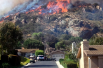 California Wildfire Rages Near Ventura County [PHOTOS]