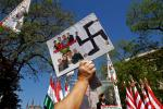 Jobbik rally in Budapest against World Jewish Congress