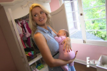 Holly Madison Gives Birth On TV