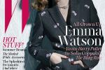 Emma Watson Poses Pantless On W Cover