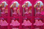 Mattel Barbie dolls helped drive growth in sales during the third quarter.
