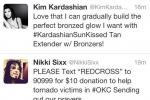 Kardashian Tweets Makeup Ad During Okla. Tornado
