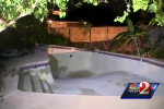 Orange County Sinkhole Swallows Family's Backyard