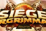 'WoW' Patch 5.4 Siege of Orgrimmar Hotfixes Released