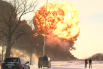 Pictures Of Train Derailment In North Dakota