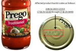 Prego Recalls Traditional Italian Pasta Sauce For Spoilage