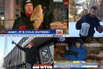 Watch 8 News Reporters Being Ridiculous To Prove It's Cold