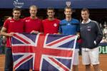 Britain Ends 28-Year Absence From Davis Cup Quarters