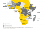 Map: Economic Growth In African Countries