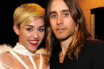 "Miley Cyrus ""Hooking Up"" With Jared Leto: Report"