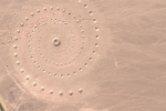 'Desert Breath' Seen From Google Earth, Mysterious Spiral Symbolizes The 'Passage Of Time'