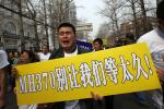 Angry Chinese Flight 370 Relatives Of Passengers Protest Against Malaysia [PHOTOS]