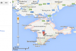 Google Maps Won't Label Crimea As Russia's, And Moscow Isn't Pleased