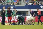 Mexico's Montes Suffers Gruesome Broken Leg