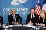 G-20 Summit, Brisbane, Australia, Nov. 16, 2014