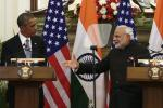 Narendra Modi and Barack Obama, Jan. 25, 2015