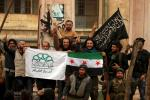 Syrian rebels in Idlib