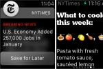 New York Times Apple Watch App