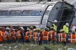 Amtrak train crashes in Philadelphia