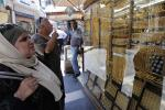 Gold Customers in Amman, Jordan, July 27, 2015