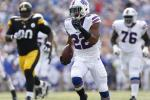 Buffalo Bills running back Fred Jackson