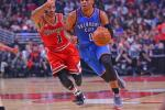 Rose vs. Westbrook