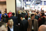 CES 2016 crowd walks the halls