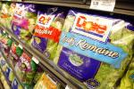 Dole pre packaged salads listeria