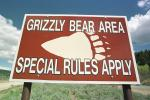grizzly bear warning
