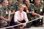 Diana Joins The Army - August 1997