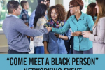 come meet a black person