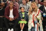 Jay Z, Blue Ivy Carter and Beyoncé