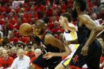 Chris Paul Klay Thompson Rockets Warriors