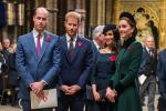 Prince William, Prince Harry, Meghan Markle and Kate Middleton