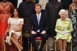 Meghan Markle, Prince Harry and Queen Elizabeth II