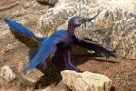 Lizard-Swallowing Microraptor
