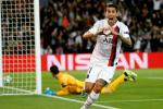 Angel Di Maria celebrates his first goal against Real Madrid at the Parc des Princes