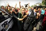 Right groups say China has detained around one million Uighurs and other Muslims in re-education camps in western Xinjiang region