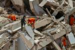 Firefighters have rescued nine people so far from the rubble of the building in Fortaleza, northeast Brazil